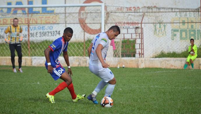 Yeison Mosquera, zagueiro do Barbalha primo Zuñiga (Foto: Eugênia Else/Rota Esportiva)