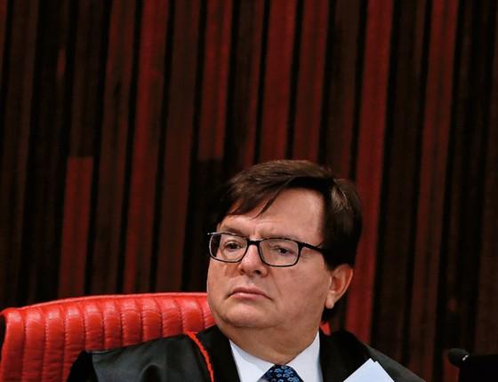 O ministro Herman Benjamin,do TSE (Foto: Pedro Ladeira/Folhapress)