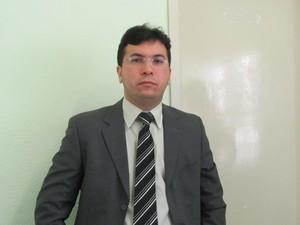 Delegado Robert Lavor (Foto: Juliana Barros/G1)