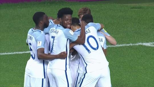 Inglaterra e Uruguai se classificam às quartas, e Zâmbia elimina a Alemanha
