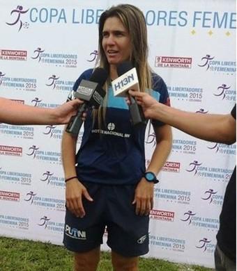 Emily Lima Técnica São José futebol feminino (Foto: Divulgação/Conmebol)