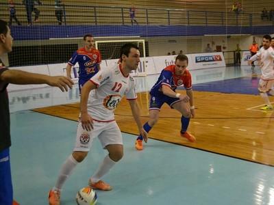 guarapuava futsal jogo  (Foto: Divulgação/Guarapuava)