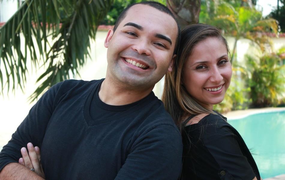 Oyama Filho e Daniela Branches fazem show beneficente (Foto: Katiúscia Monteiro/ G1 AM)