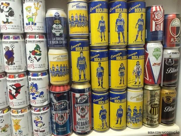 cervejeiros_coleçãolatas 7 (Foto: Arquivo Pessoal)