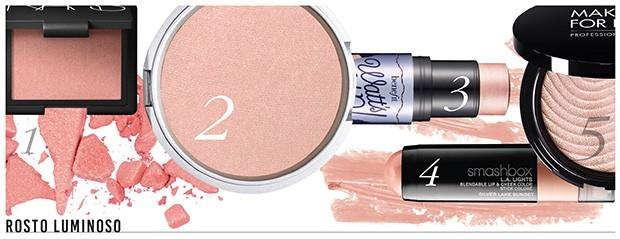 Produtos de maquiagem para o rosto (Foto: Divulgação)