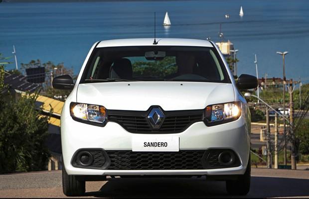 Renault Sandero (Foto: Divulgação)