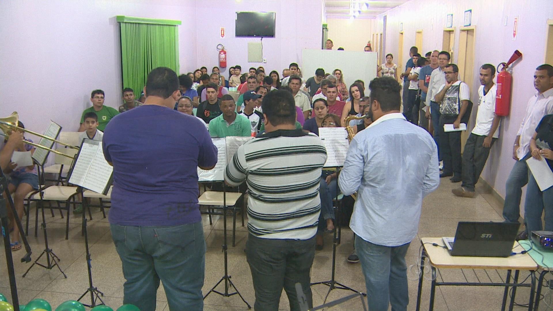 Esta foi a primeira Edição do Projeto Música Brasil na Zona Leste de Porto Velho (Foto: Rondônia TV)