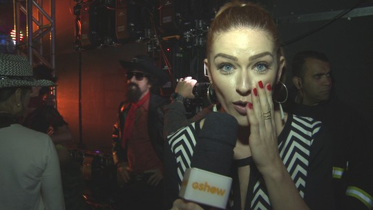 'Show dos Famosos': confira o que rolou nos bastidores da semifinal
