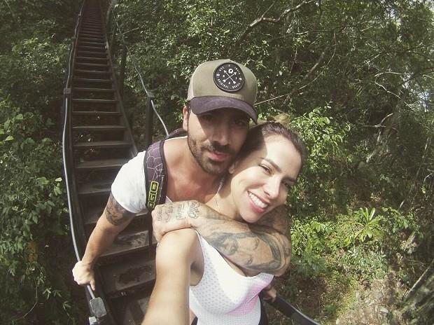 Rodrigo e Adriana (Foto: Instagram / Reprodução)