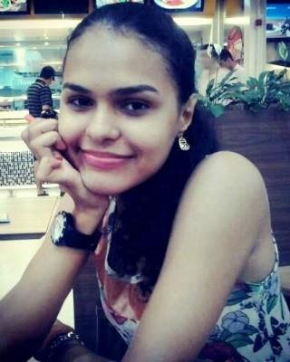 Luana Souza foi atingida com um tiro no tórax (Foto: Reprodução TV Acre)