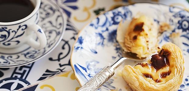 Pastel de nata (Foto: Elisa Correa/ Editora Globo)