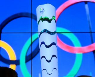 Tocha Olímpica Campinas  (Foto: Domingos Sávio / EPTV)