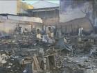 Incêndio destrói barracos no bairro São Fernando, em Campinas, SP