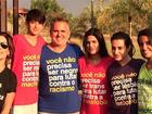 Glória Pires posta foto com a família em Dia da Independência do Brasil