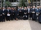 Juízes fazem ato em defesa da autonomia do Judiciário, em Goiás