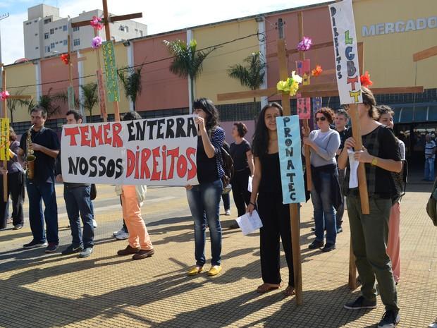 Reitoria afirma que  (Foto: Carol Malandrino/G1)