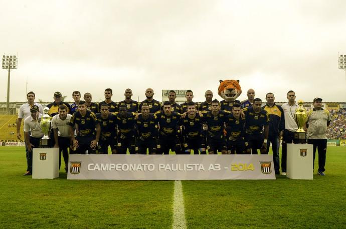 Novorizontino, campeão Paulista da Série A3 2015 (Foto: Wiliam Lima / Novorizontino)