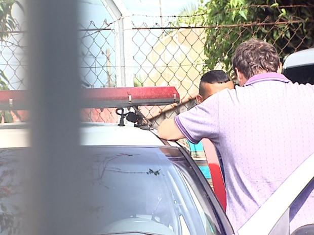 Adolescente de 16 anos foi levado a uma unidade da Fundação Casa (Foto: Chico Escolano/EPTV)