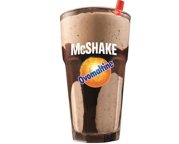 McDonald's tira milk-shake de Ovomaltine do Bob´s (Foto: Divulgação)