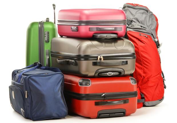 Malas de viagem ; turismo ; brasileiros gastam dólares ; compras no exterior ; viagem ;  (Foto: Dreamstime)