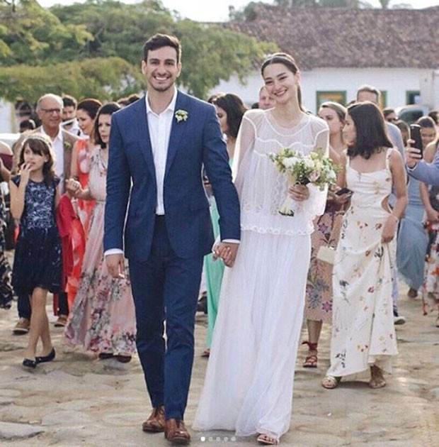 Bruna Tenório e Felipe Faria (Foto: Reprodução/Instagram)