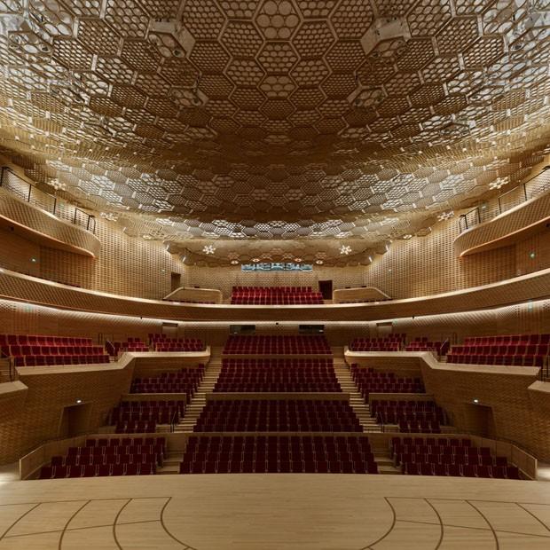 Prédio francês para Óperas é inspirado em vela gigante (Foto: Divulgação)