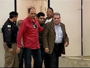 ex delegado Uberlândia julgamento Uberlândia (Foto: Reprodução/TV Integração)