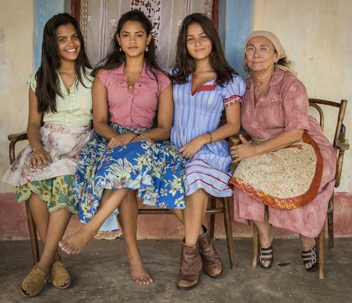 As mulheres da família dos Anjos (Foto: Felipe Nahon/ Gshow)
