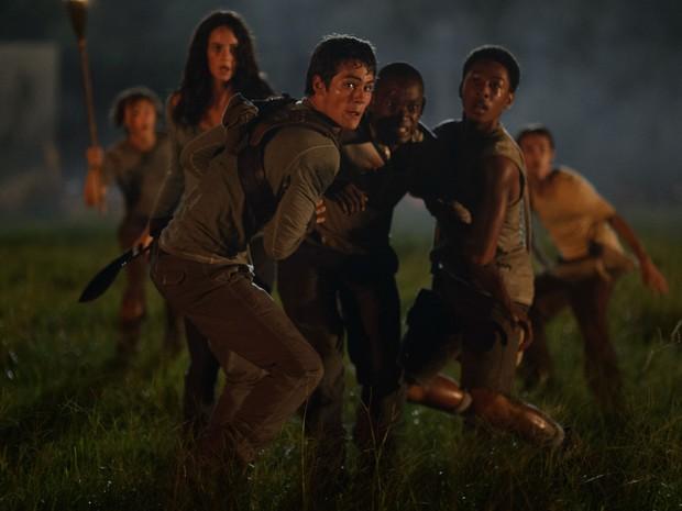 Em 'Maze Runner - Correr ou Morrer', jovens tem que lidar com muitos perigos (Foto: Divulgação / Fox)