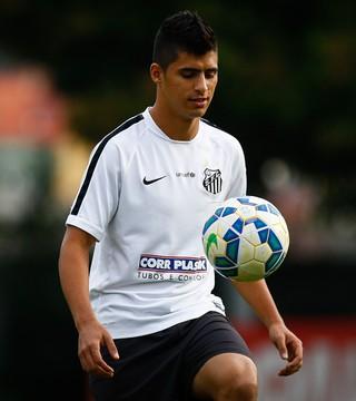 Daniel Guedes lateral-direito do Santos (Foto: Ricardo Saibun / Santos FC)