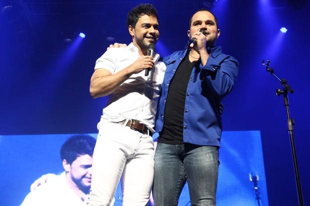 Zezé Di Camargo e Luciano fazem show em São Paulo (Foto: Manuela Scarpa/Photo Rio News)