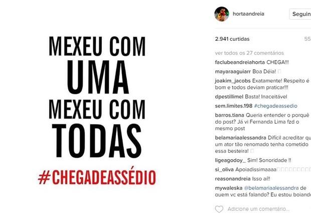 Andreia Horta (Foto: Reprodução/ Instagram)