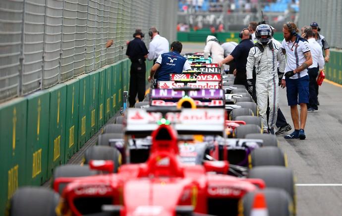Bottas, GP da Austrália, dor nas costas (Foto: Getty Images)