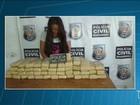 Jovem é presa com 49 tabletes de maconha em Peritoró, MA
