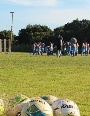 Enxuga Rato, treino clássico contra River-PI  (Foto: Joana D'arc Cardoso)