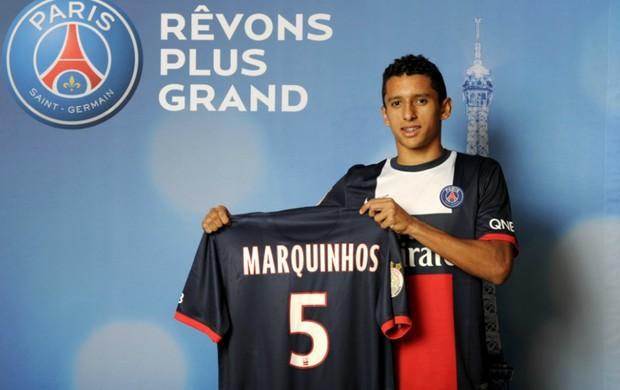 Marquinhos PSG (Foto: Reprodução / Site Oficial)