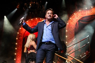 Leonardo faz show (Foto: Manuela Scarpa/Photo Rio News)