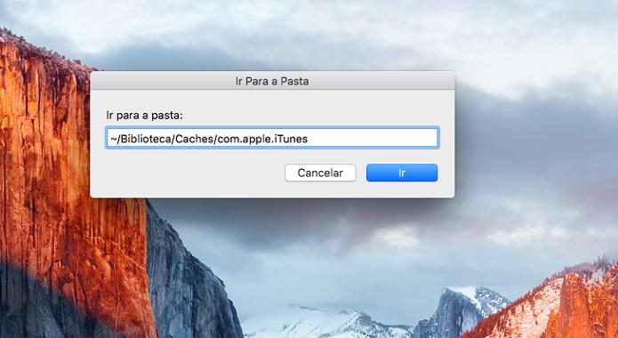 Acessando o cache do Apple Music no Mac (Foto: Felipe Alencar/TechTudo)