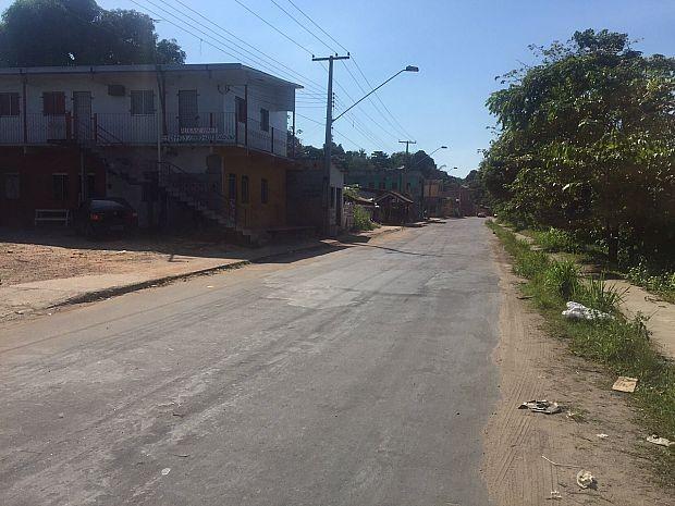 Último crime registrado pela DEHS ocorreu às 4h40 no bairro Monte das Oliveiras (Foto: Diego Toledano/G1 AM)