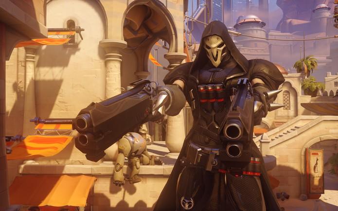 O mortal e misterioso Reaper (Foto: Divulgação/Blizzard)