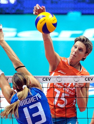 Ingrid Louise Visser vôlei Holanda (Foto: Getty Images)