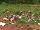 Lixo jogado em estradas rurais revolta agricultores em Ji-Paraná, RO