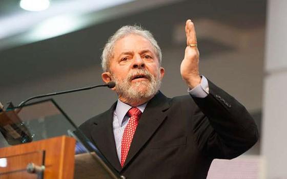 O ex-presidente Luiz Inácio Lula da Silva (Foto: Reprodução/Facebook)