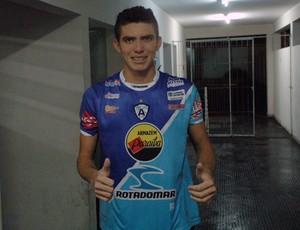Dorin, Zagueiro do Atlético-PB, Atlético de Cajazeiras, Campeonato Paraibano, Paraíba (Foto: Richardson Gray / Globoesporte.com/pb)