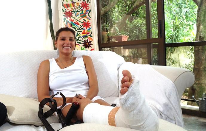 Maya Gabeira (Foto: Carol Fontes)