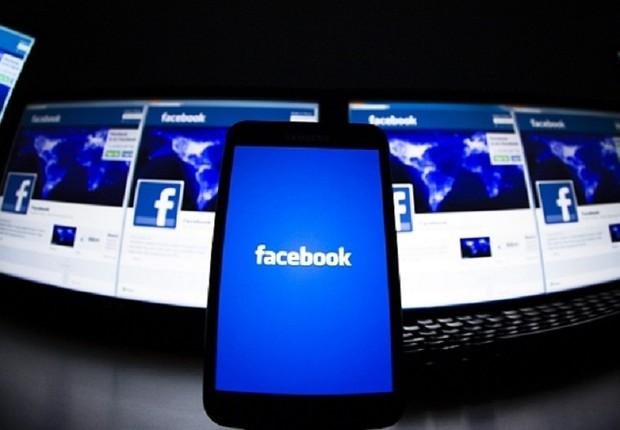 Logotipo do Facebook é visto em tela de computador (Foto: Reuters/Arquivo)