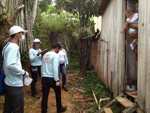 Casos de dengue aumentam em Cruzeiro do Sul (Foto: Genival Moura/G1)