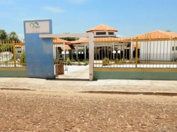 Escola Augustinho Brandão, em Cocal dos Alves, Piauí (Foto: Reprodução/TV Globo)