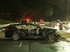 Primo de jovem morta diz que carro derrapou em poça d'água em avenida