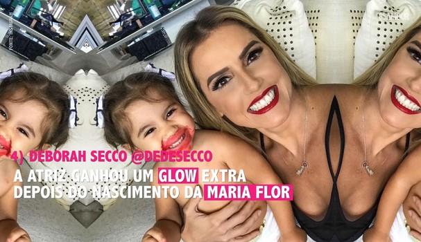 Deborah Secco é mãe de Maria Flor e uma de nossas selecionadas (Foto: Reprodução/Instagram)